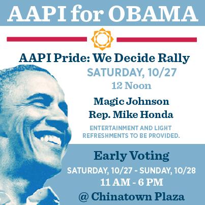 AAPI for Obama: We Decide!
