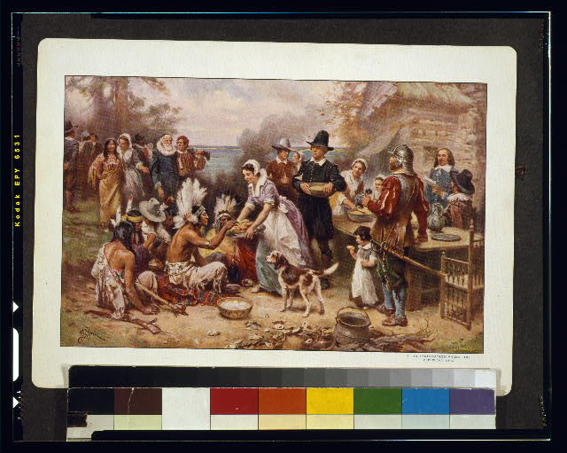 The first Thanksgiving, 1621 / J.L.G. Ferris