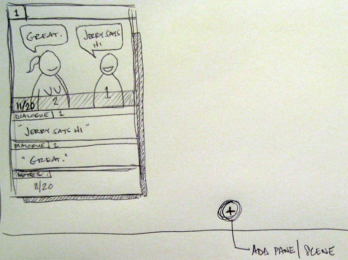© studio C | storyboarding tool, idea slide 1