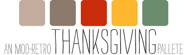 © studio c | all rights reserved | Mod-Retro Thanksgiving palette